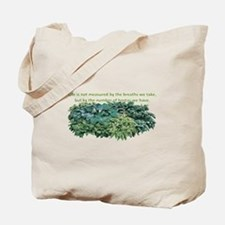 Number of hostas Tote Bag