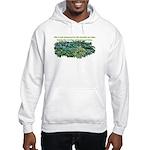 Number of hostas Hooded Sweatshirt