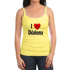 I Love Oklahoma Jr.Spaghetti Strap