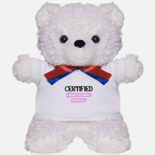 """Certified Awesome Baby"" Teddy Bear"