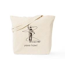 Yeee Haw! Cowboy Vintage Brow Tote Bag