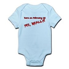 Leap Year Birthday Infant Bodysuit