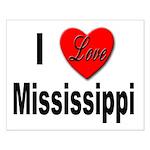 I Love Mississippi Small Poster