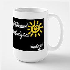 Smile It Forward-Tall Mug-Black & White Mugs