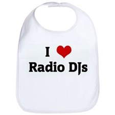 I Love Radio DJs Bib