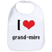 I 'heart' grand-mere Bib