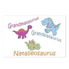 Grandma, Grandpa & Natalieosa Postcards (Package o