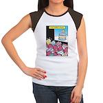 Cake Horror Movies Women's Cap Sleeve T-Shirt