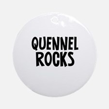 Quennel  Rocks Ornament (Round)