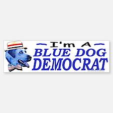Sample Blue Dog Democrat Bumper Bumper Bumper Sticker