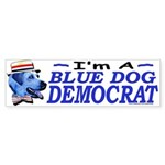 Sample Blue Dog Democrat Bumper Sticker