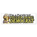 Sample Purebred Yellow Dog Bumper Sticker