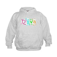 Abstract Diva Hoodie