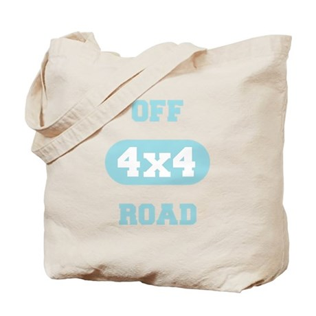 Off Road 4x4 Light Blue Tote Bag
