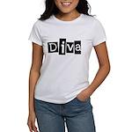 Abstract Diva Women's T-Shirt