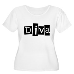 Abstract Diva T-Shirt