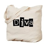 Abstract Diva Tote Bag