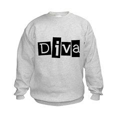 Abstract Diva Sweatshirt