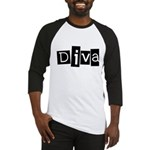 Abstract Diva Baseball Jersey