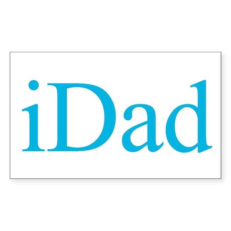 iDad (iMac) Rectangle Sticker
