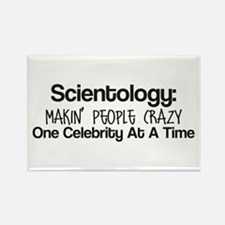 ANTI-SCIENTOLOGY - Rectangle Magnet (10 pack)