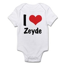 I 'heart' Zeyde bodysuit