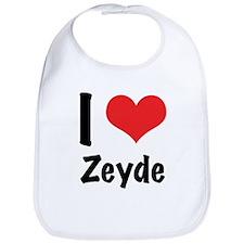 I 'heart' Zeyde Bib