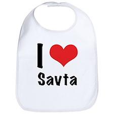 I 'heart' Savta Bib