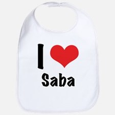 I 'heart' Saba Bib