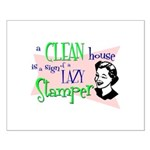 Lazy Stamper Small Poster