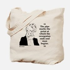 Pipe Smoker X Tote Bag
