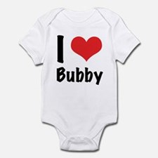 I 'heart' Bubby bodysuit