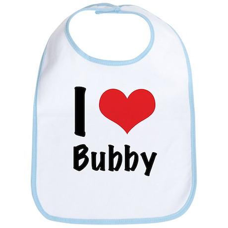 I 'heart' Bubby Bib