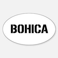BOHICA Oval Decal