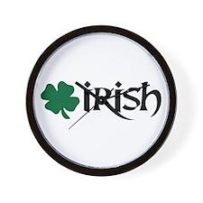 Irish v6 Wall Clock
