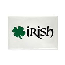 Irish v6 Rectangle Magnet