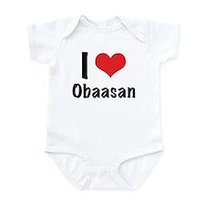 I 'heart' Obaasan bodysuit