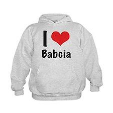 I 'heart' Babcia Hoodie