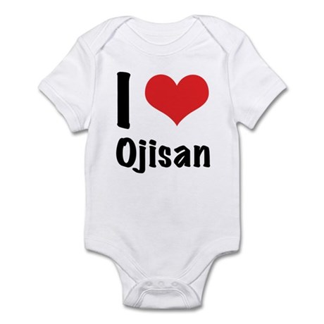 I 'heart' Ojisan bodysuit