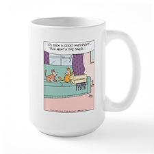 Cat Curtain Shredder Mug