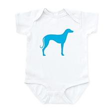 Blue Sloughi Infant Bodysuit