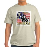 Let's Roll Patriotic Ash Grey T-Shirt