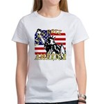 Let's Roll Patriotic Women's T-Shirt
