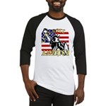 Let's Roll Patriotic Baseball Jersey