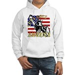 Let's Roll Patriotic Hooded Sweatshirt