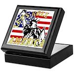 Let's Roll Patriotic Keepsake Box