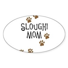 Sloughi Mom Oval Decal