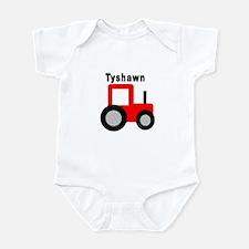 Tyshawn - Red Tractor Onesie