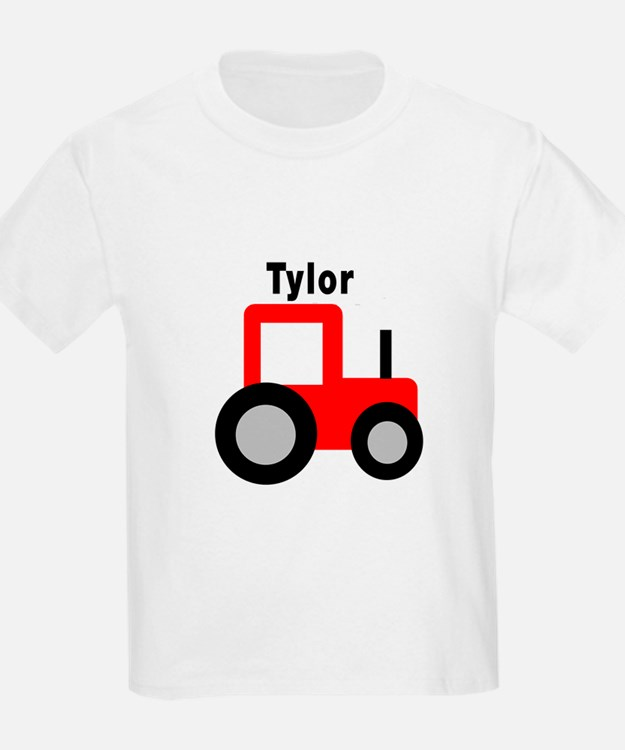 Tylor - Red Tractor T-Shirt