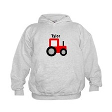 Tylor - Red Tractor Hoodie
